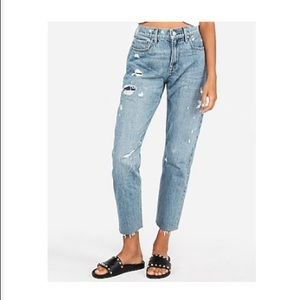 Express High Waisted Original Ripped Vintage Jeans